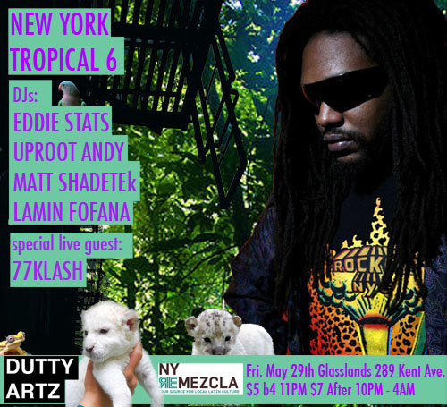 dutty artz ny tropical