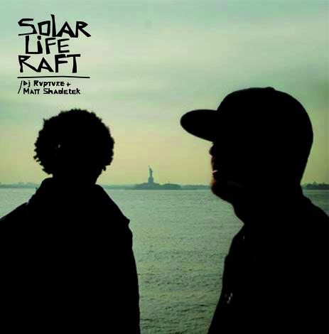 DJ Rupture & Matt Shadetek Solar Life Raft CD Cover
