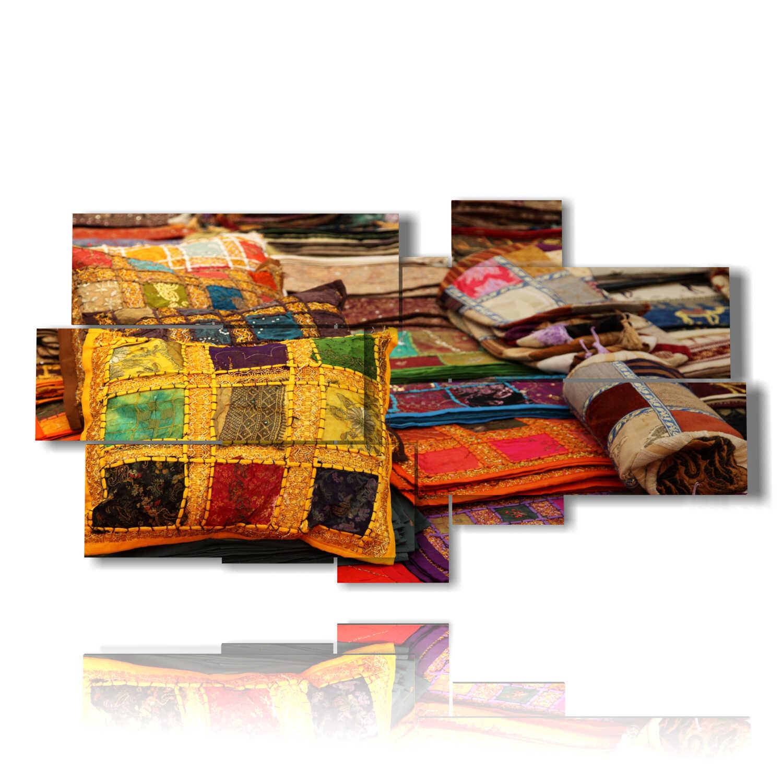 Songmics cornice foto multipla per 12 foto, 10. Foto Moderne Per Quadri Con Cuscini Indiani 3d Duudaart
