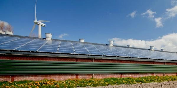 zon en wind energie transitie