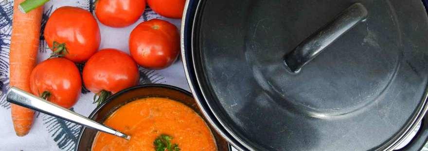 Geroosterde tomatensoep met venkel | Duurzamekeuzes.com
