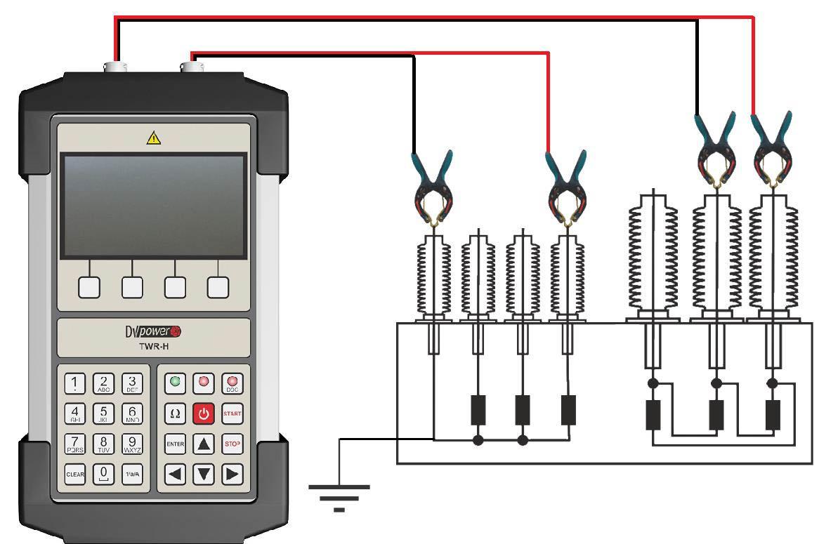 Transformer Testing With Handheld Tester Twr H