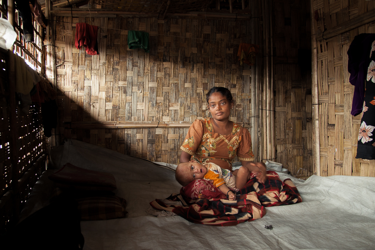 The Burmese government stand accused by a leading INGO of conducting a discriminatory campaign of population control against the Rohingya community in Arakan State. (PHOTO: Marta Tucci)