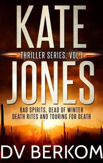 Kate Jones Thrillers, Vol. 1 (box set)