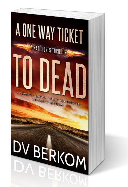 image of A One Way Ticket to Dead paperback