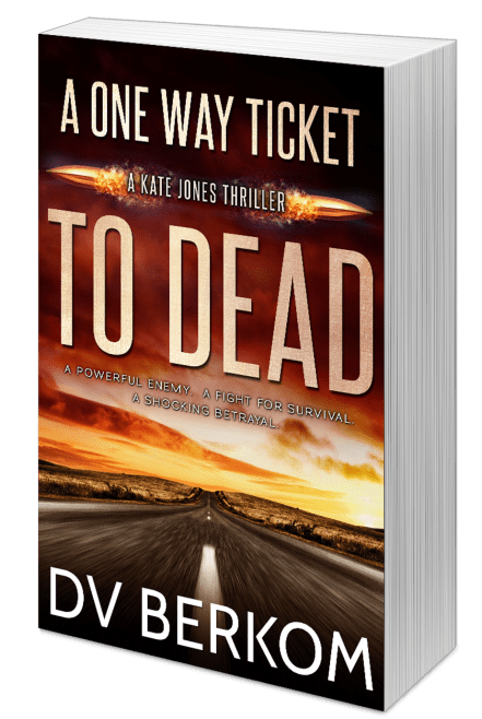 print cover for A One Way Ticket to Dead