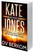 print cover for The Kate Jones Thriller Series