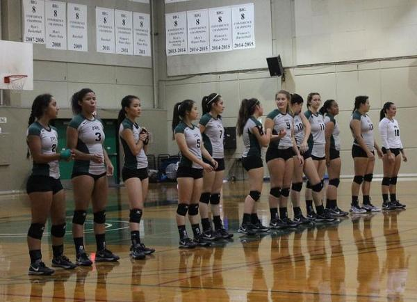 The Inquirer : Vikings volleyball loses final home game of ...