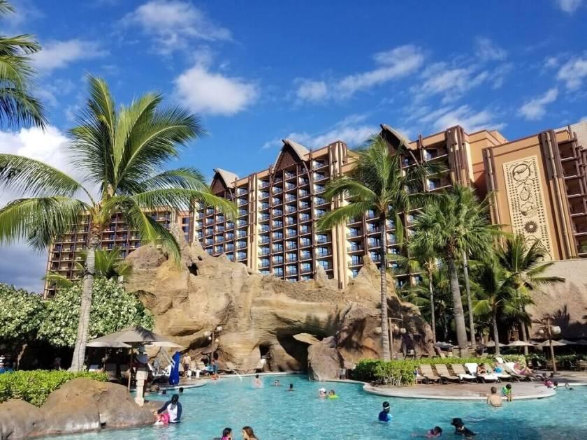 Pool view at Disney's Aulani Resort