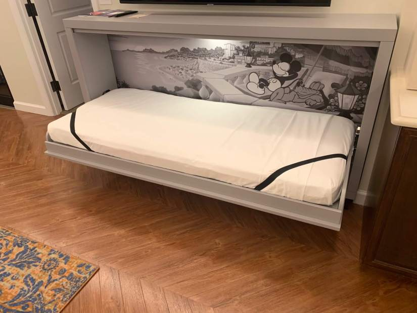 Murphy bed at the Riviera Resort