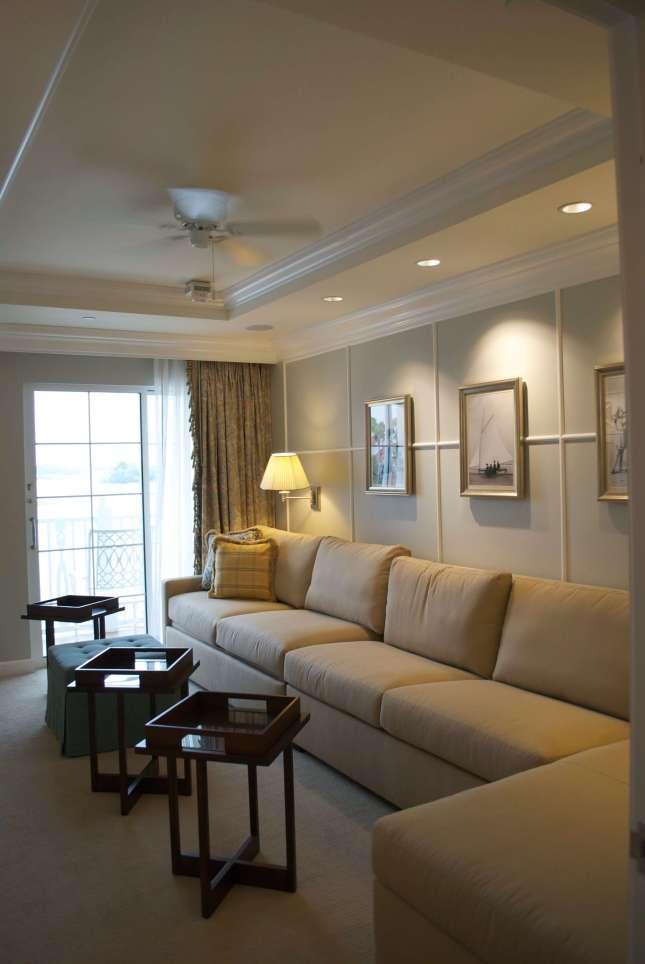 Grand Floridian Grand Villa Media Room