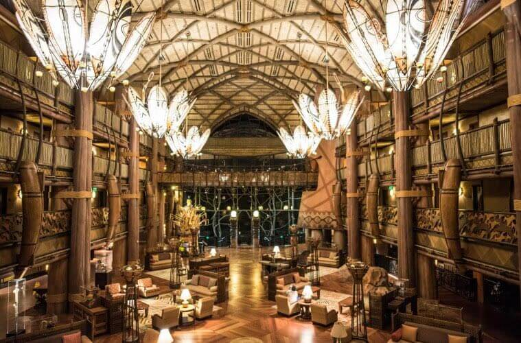 Inside the Jambo House at Disney's Animal Kingdom Villas
