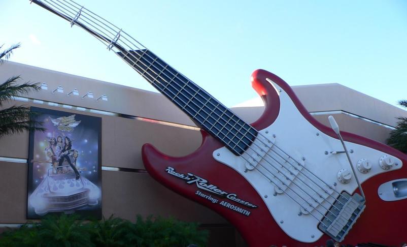 Rock n Roller Coaster, Disney's Hollywood Studios giant guitar