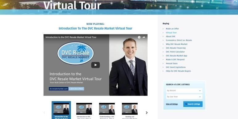 DVC Resale Market Virtual Tour