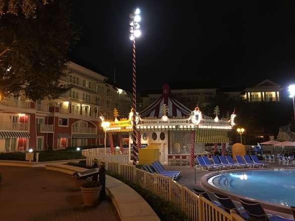 Disney's Boardwalk pool area