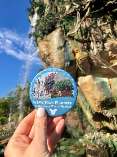 WDW Park Planners Badge (Make Every Minute Magical)