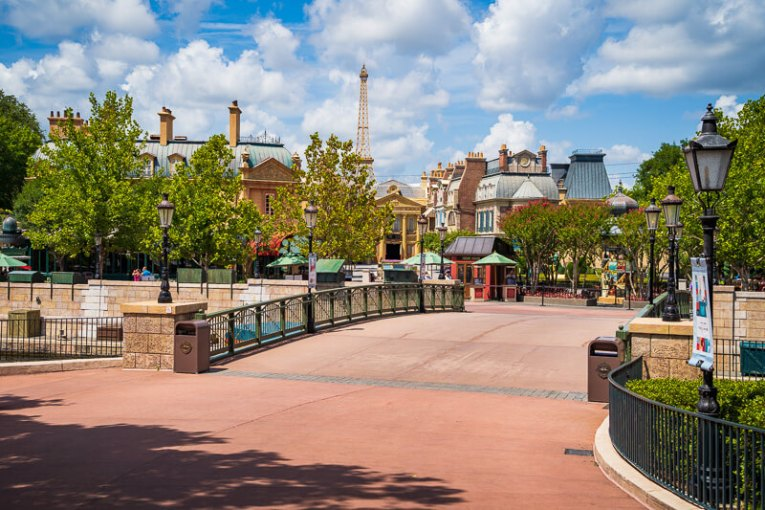 France at Disney's EPCOT