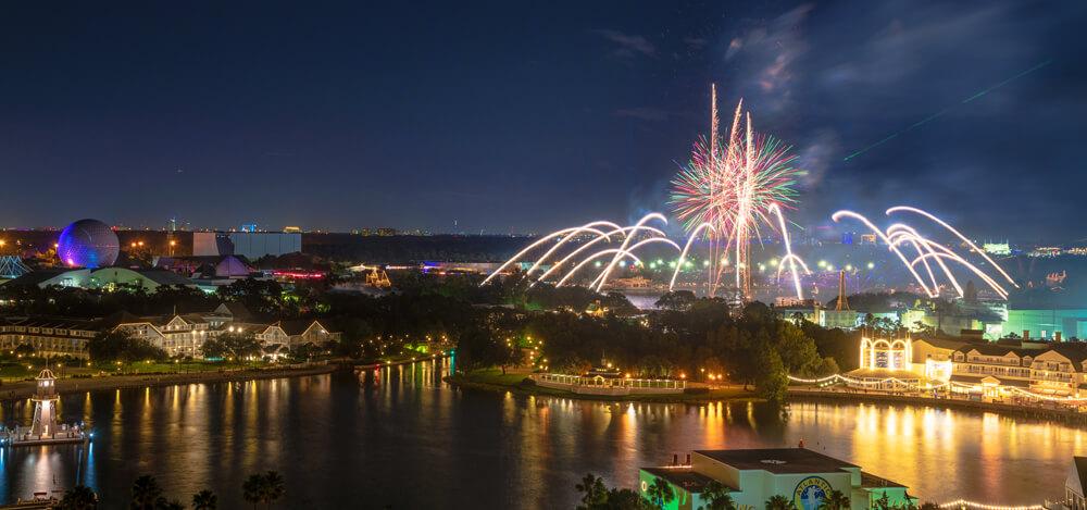 Epcot Forever Fireworks at Disney World