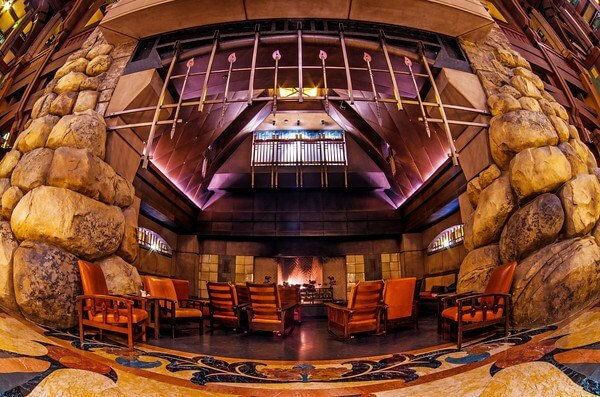 Disney's Grand Californian DVC resort lobby