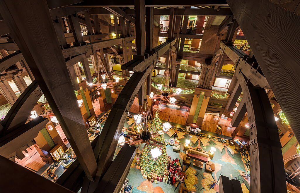 Grand Californian Lobby Interior