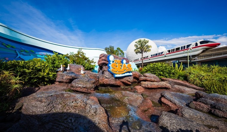 Living Seas Monorail at EPCOT in Disney World