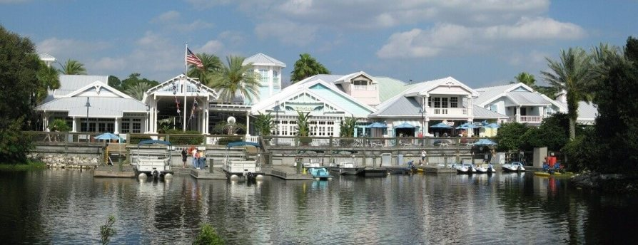 Old Key West DVC boat dock