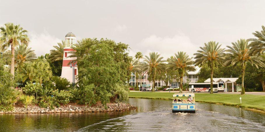 Disney's Old Key West waterway