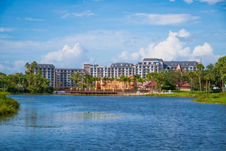 External view of the Riviera Resort at Walt Disney World
