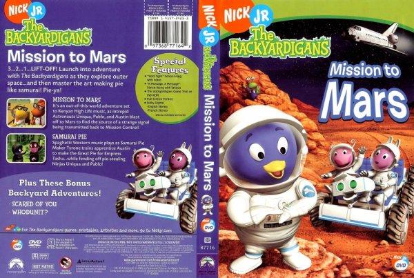 The backyardigans mission to mars nick jr : grifloatmiz