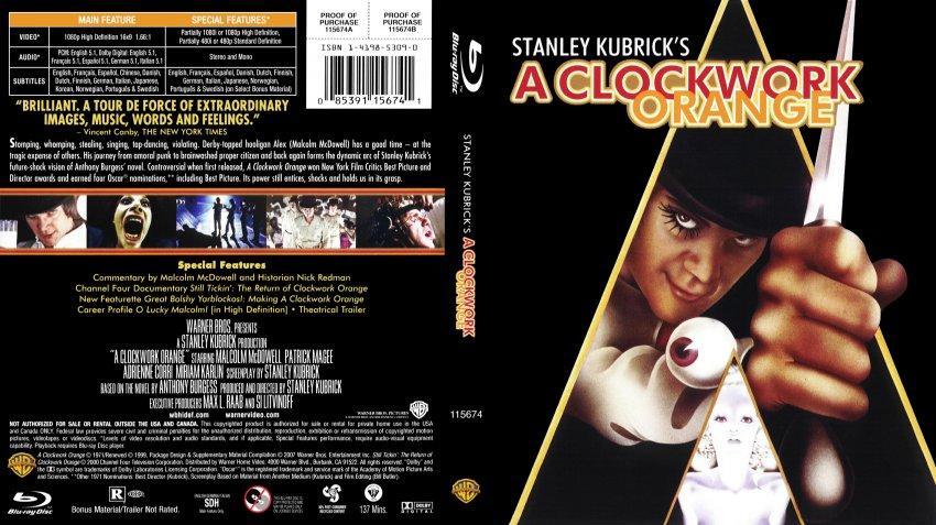 Clockwork Orange Dvd Cover