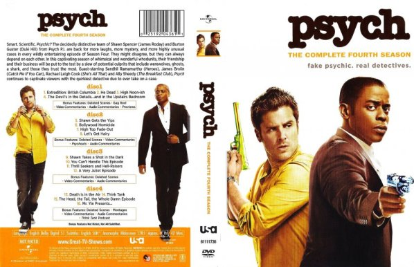 Image result for psych Season 4