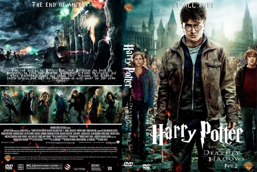 Harry Potter Blu Ray Covers