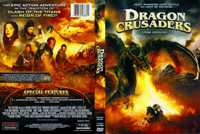 Dragon Crusaders Movie Dvd Scanned Covers Dragon Crusaders Dvd Covers