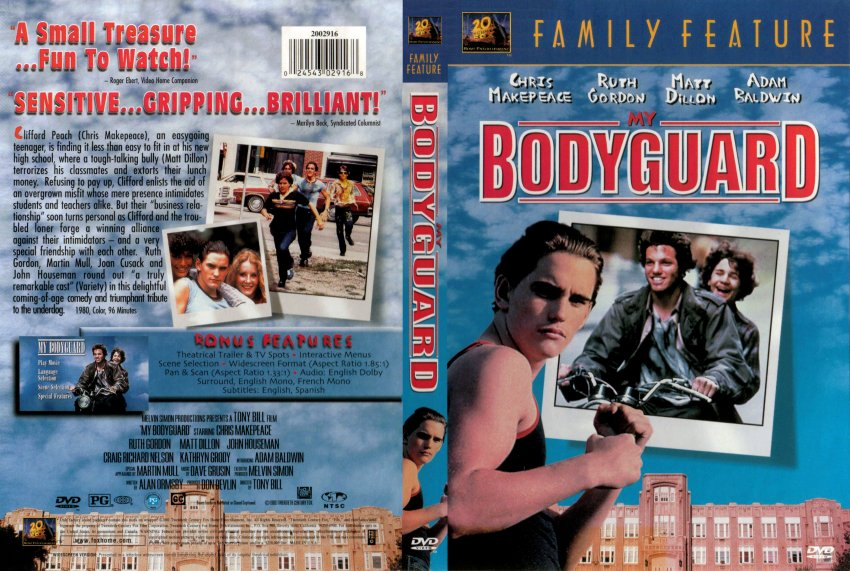 My Bodyguard - Movie DVD Scanned Covers - 308My Bodyguard ...