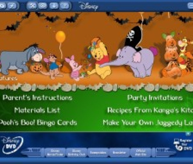 Oh The Places Your Printer Will Go With This Dvd Rom Party Menu