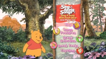 Sing A Song With Pooh Bear And Piglet Too Sing Along
