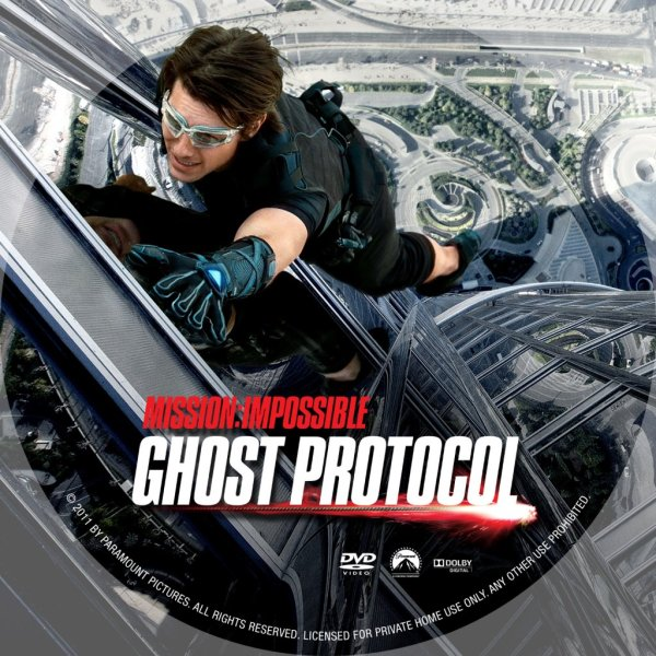 Mission Impossible Ghost Protocol DVD PLANET STORE
