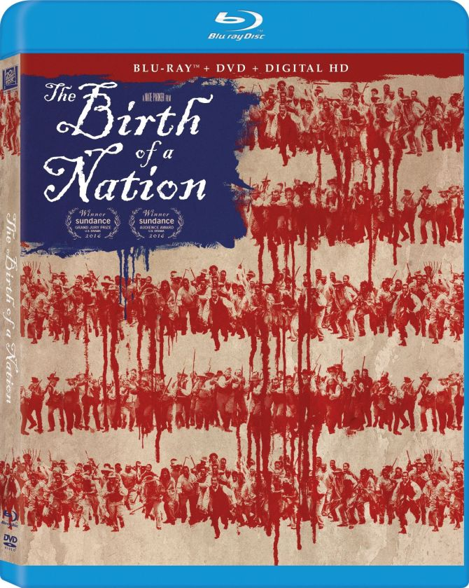 birth of a nation blu ray cover 86 - The Birth Of A Nation 2016 BRRip 480p Dual Audio 300Mb ESub