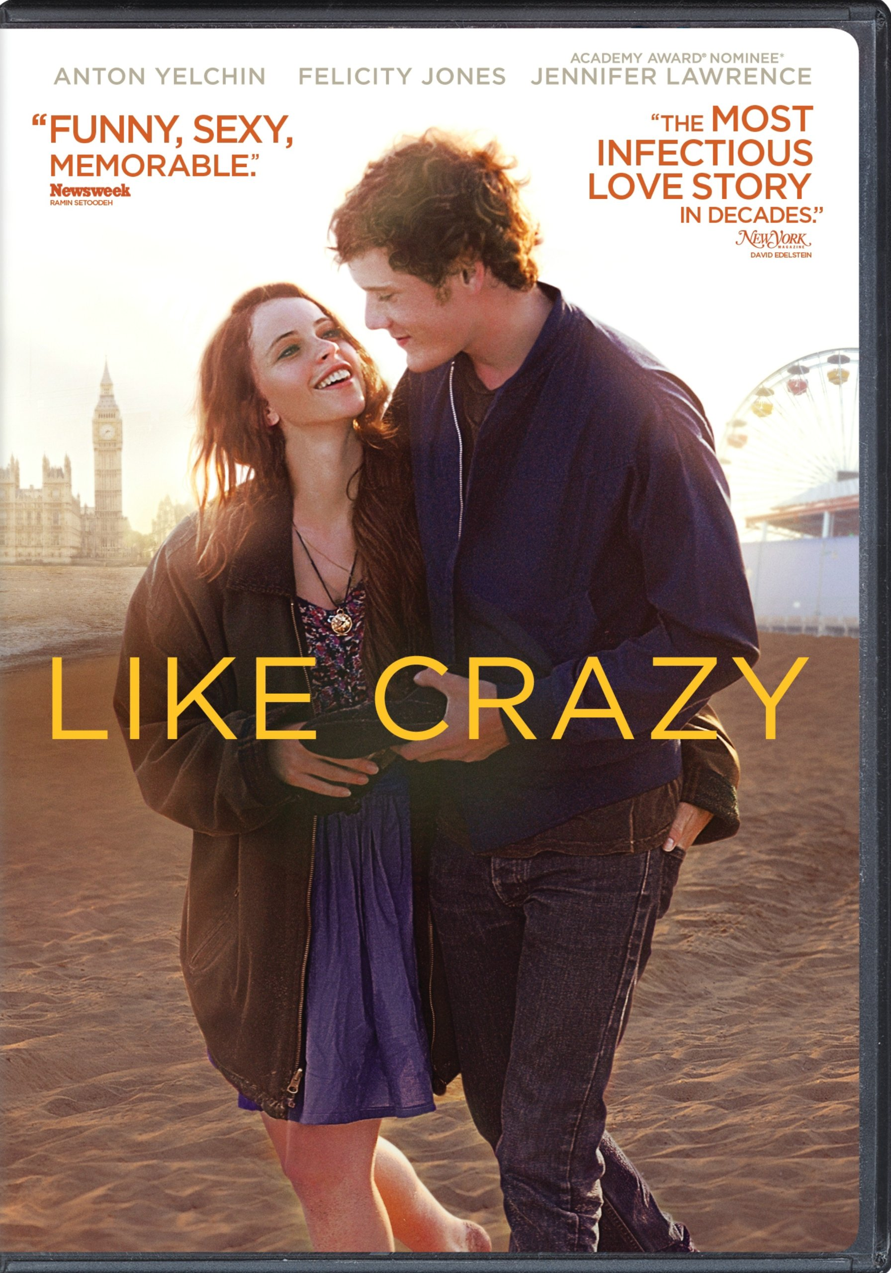 Like Crazy DVD Release Date March 6 2012