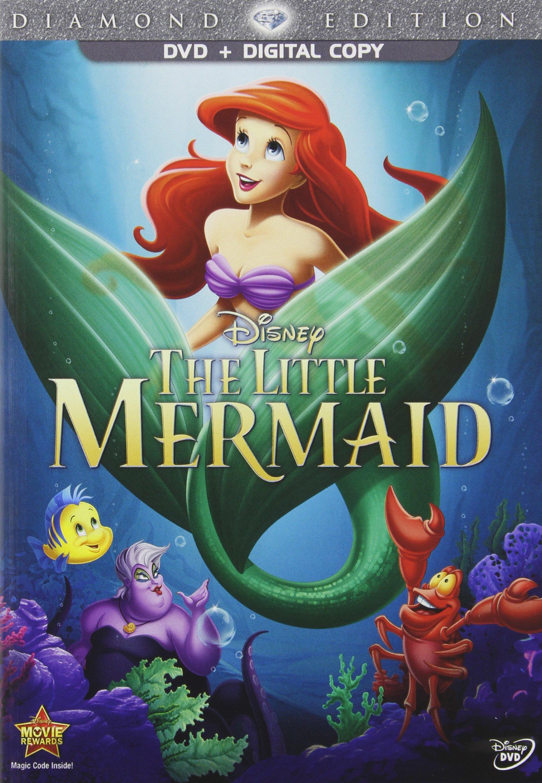 The Little Mermaid Dvd Release Date