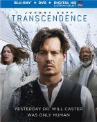 Transcedence Blu-Ray cover