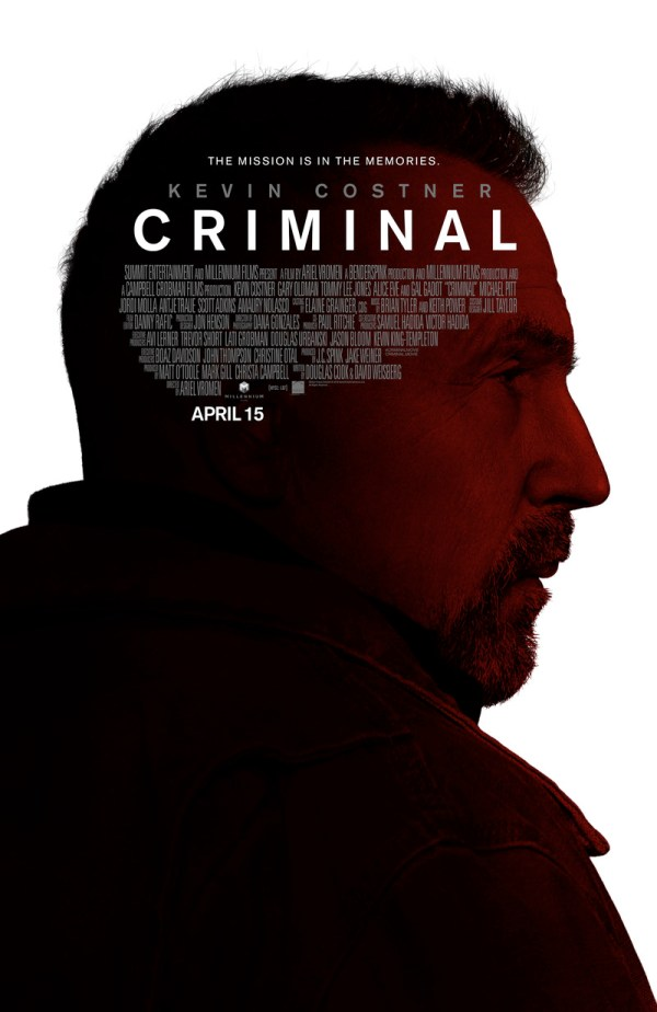 Criminal DVD Release Date July 26 2016