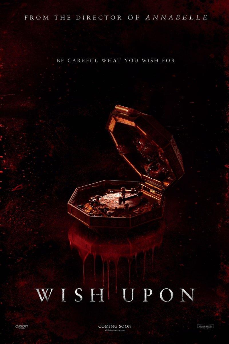 Wish Upon DVD Release Date October 10 2017