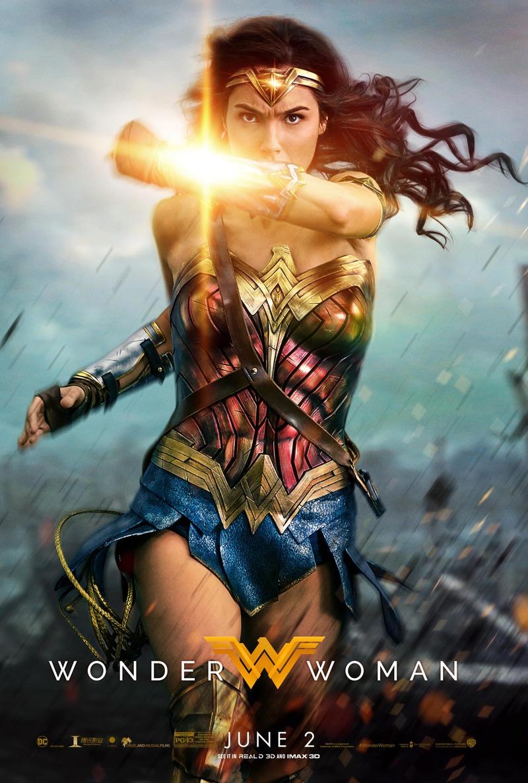 Image result for wonder woman cinema poster