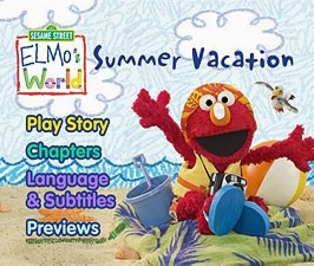 Sesame Street Elmos World Summer Vacation Dvd Talk Review Of The Dvd Video