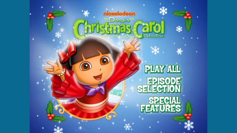 Dora The Explorer Christmas Carol Adventure Kisscartoon