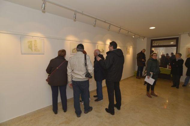Stare mape Kanfanarštine u galeriji Malenica