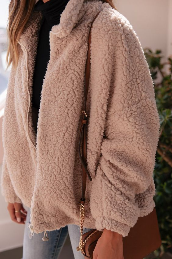 teddy bear coat short