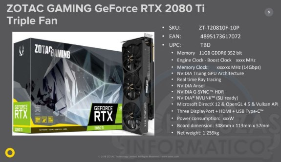 Pricing Leaks Of Zotac GeForce RTX 2080 Series
