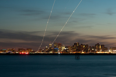 Trails over BOS